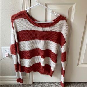 American Eagle Striped sweater.